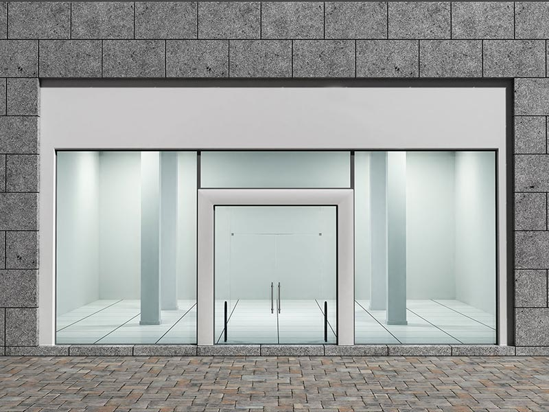 Commercial Glass Storefronts