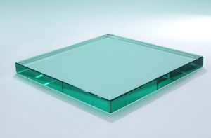 flat polished glass edge