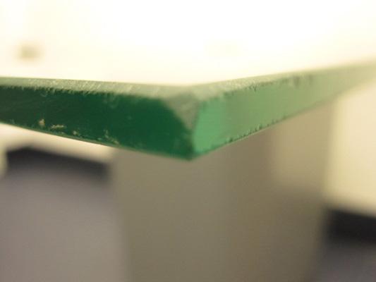seamed edge