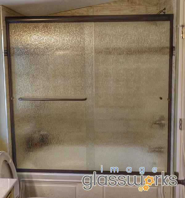 semi-frameless sliding door