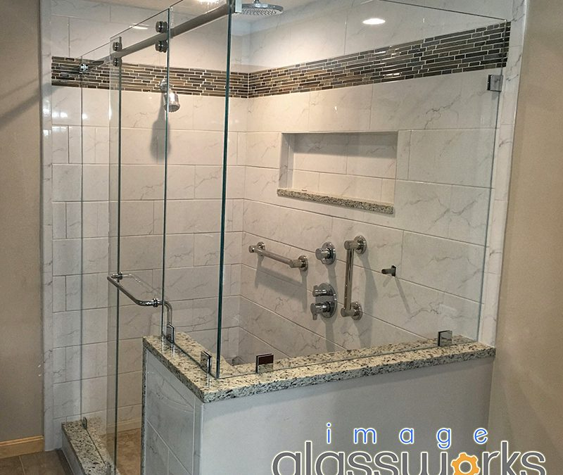 Process of having a custom frameless shower installed explained in detail