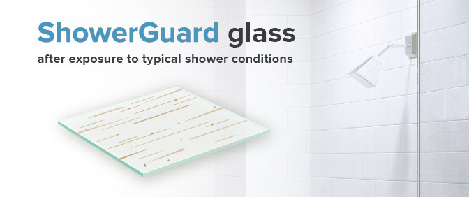 showerguard after exposure