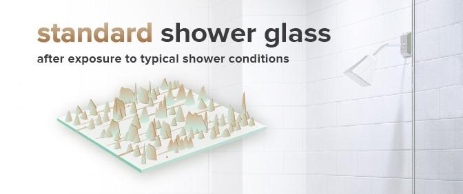 standard glass after exposure