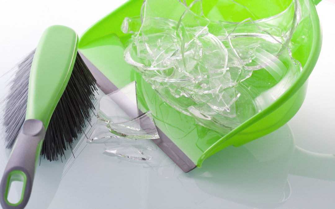 Helpful Tips for Cleaning Up Broken Glass