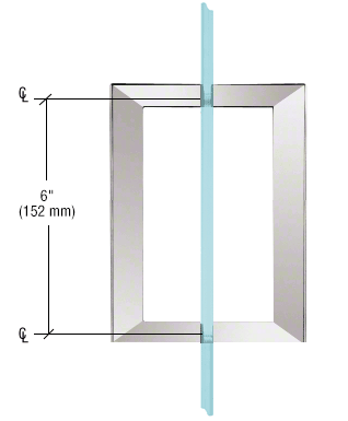 CRL Square pull handle